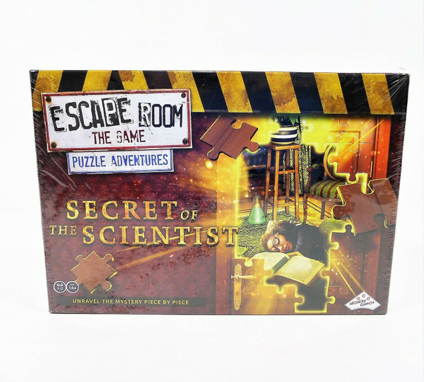 Escape Room The Game Puzzle Adventures - NEW SEALED