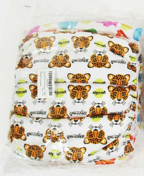 Wegreeco Animal Print Washable Male Dog Diapers 3 Pack NEW IN PACKAGE Size L