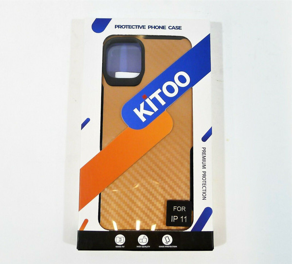 Kitoo Rose Gold Protective Phone Case for iPhone 11 - NEW SEALED