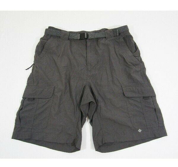 Columbia Omni-Wick Advanced Evaporated Men's Gray Shorts w/ Belt Size M