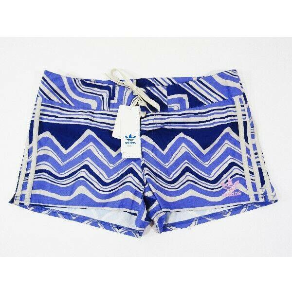 Adidas Climalite Women's Purple & White Swim Shorts Size 9XL