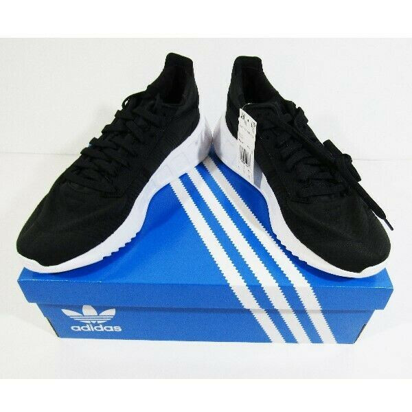 Adidas Geodiver Primeblue Men's Black & White Running Shoes Size 9.5 *NEW IN BOX