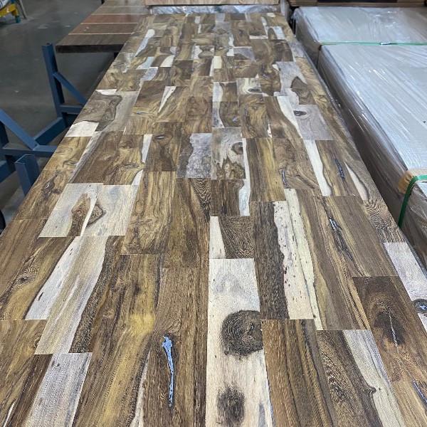 "Dragon Wood Butcher Block Bar/Table/Counter Top 1-1/2"" x 25"" x 96"""