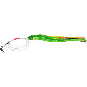 Daisy Chain Striker - Green & Yellow with Orange Stripe