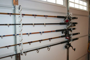 Ultimate Rod Sitter - 10 Rod Fishing Rod Storage Rack