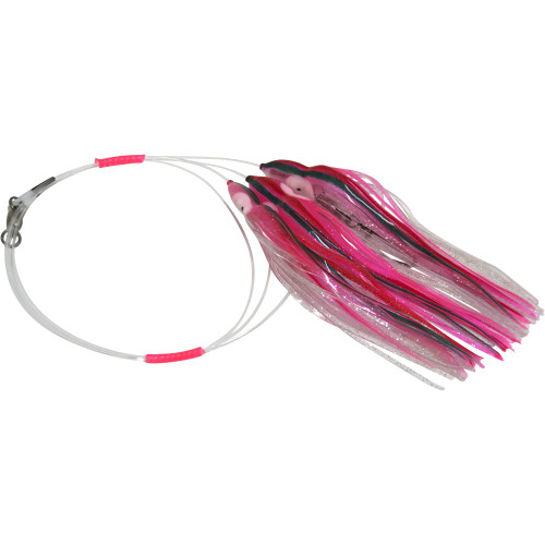 Daisy Chain Leader - Two Toned Pink with Green Stripe