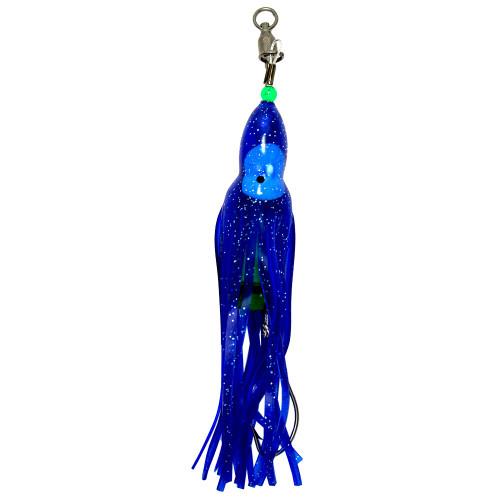 Squid Skirt Hoochie Lure - Blue