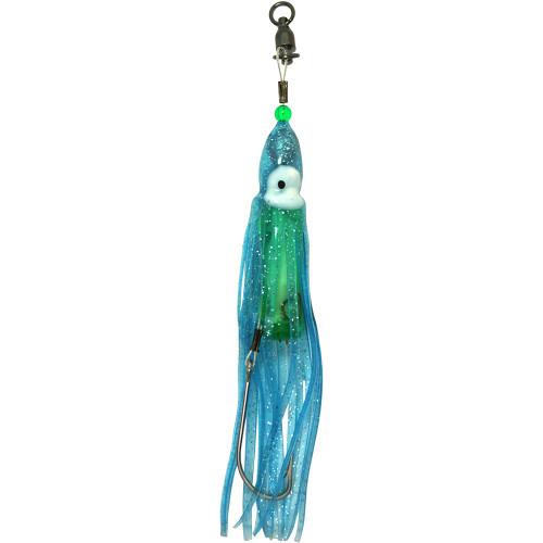 Squid Skirt Hoochie Lure - Blue Ice