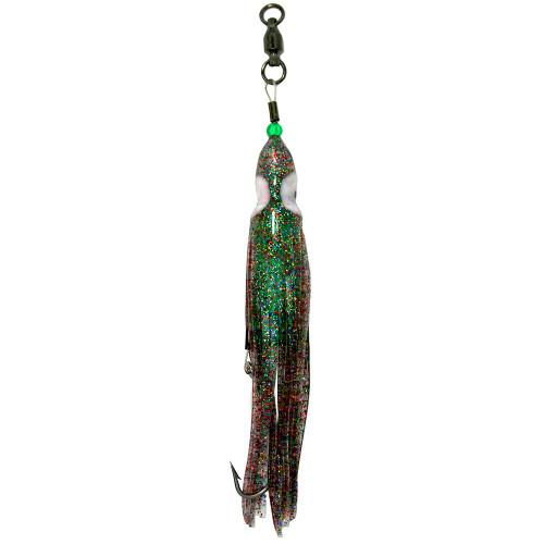 Squid Skirt Hoochie Lure - Sardine Sparkle