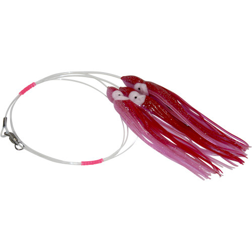 Daisy Chain Leader - Red & Luminous Pink