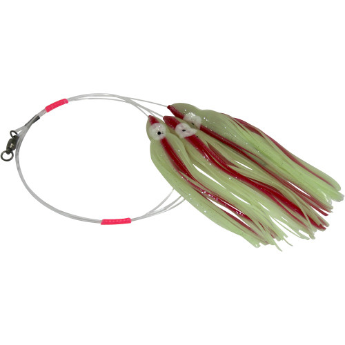 Daisy Chain Leader - Glow in Dark Green with Red Stripe