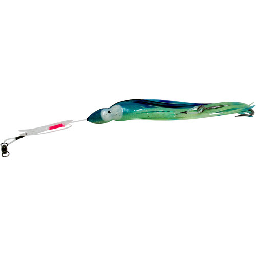 Daisy Chain Striker - Glow in Dark Aqua Blue and Green with Black Stripe