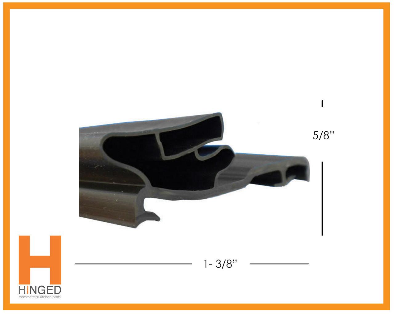 Ardco 02-81055-0040 Glass Door Gasket 28-1/16 x 63