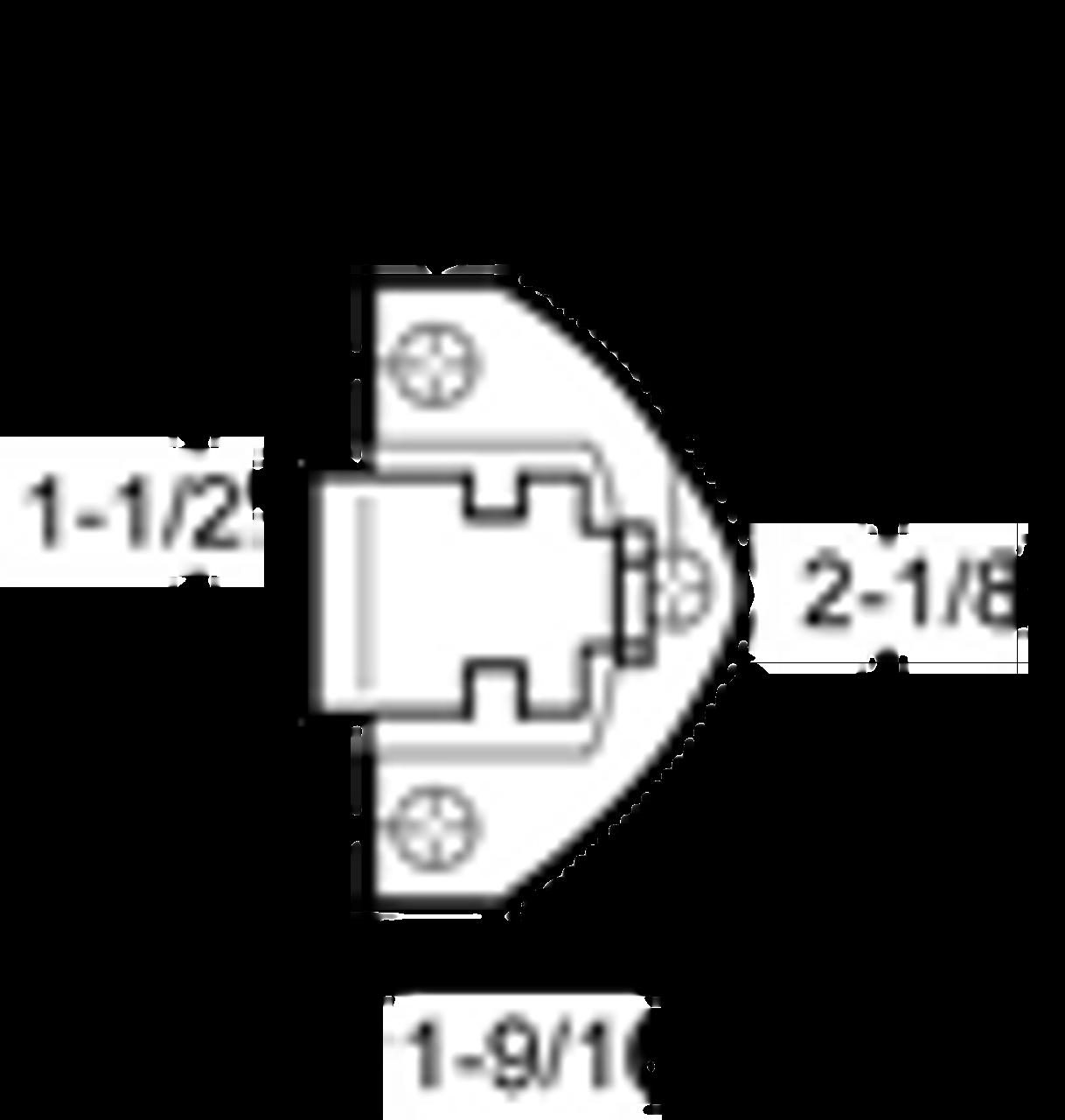Kason 930C00004 Reach-in Door Latch