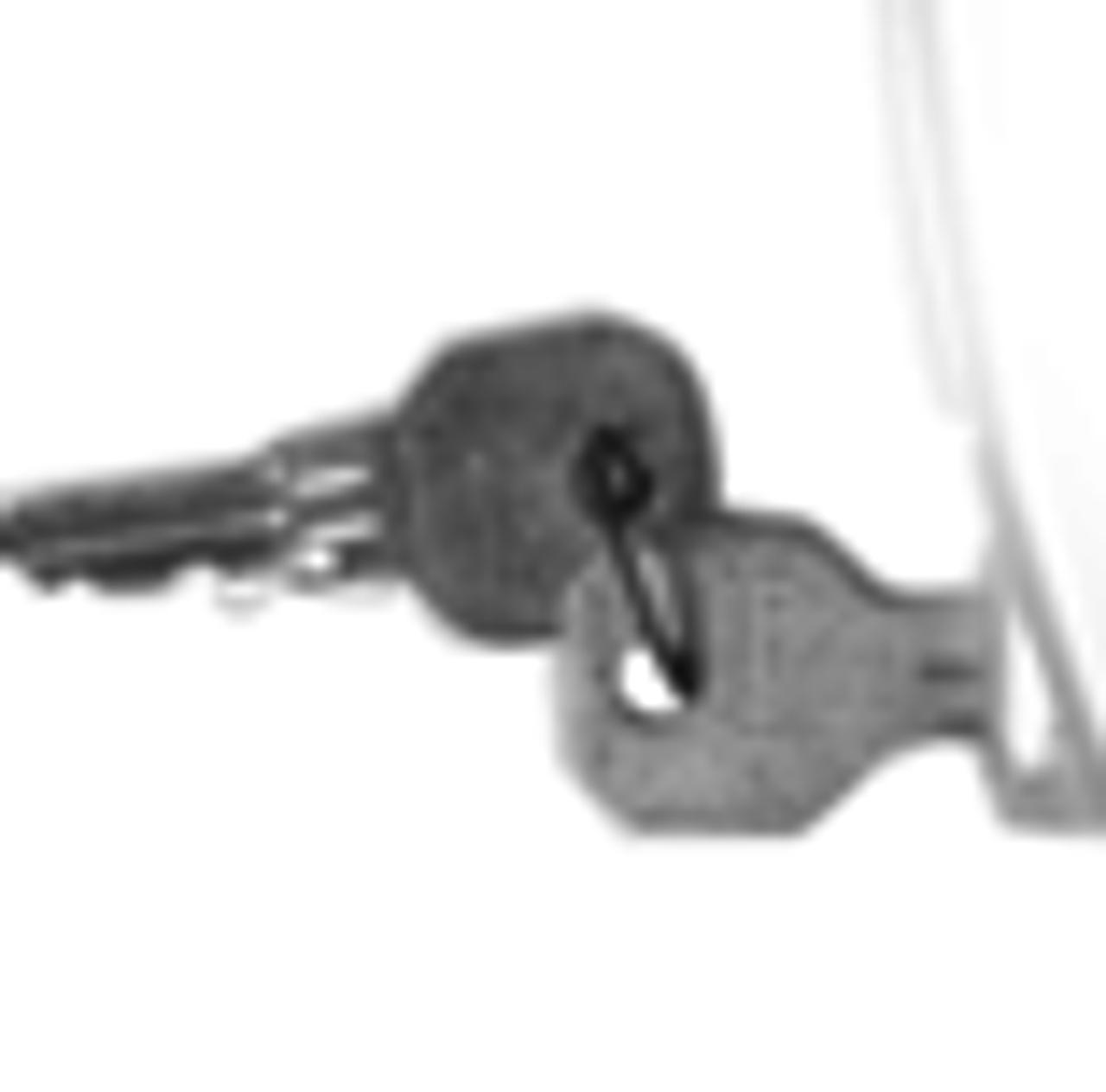 """Polished Chrome Heavy Duty Latch /& StrikeOffset 3//4/"""" to 1-5//8/"""""""