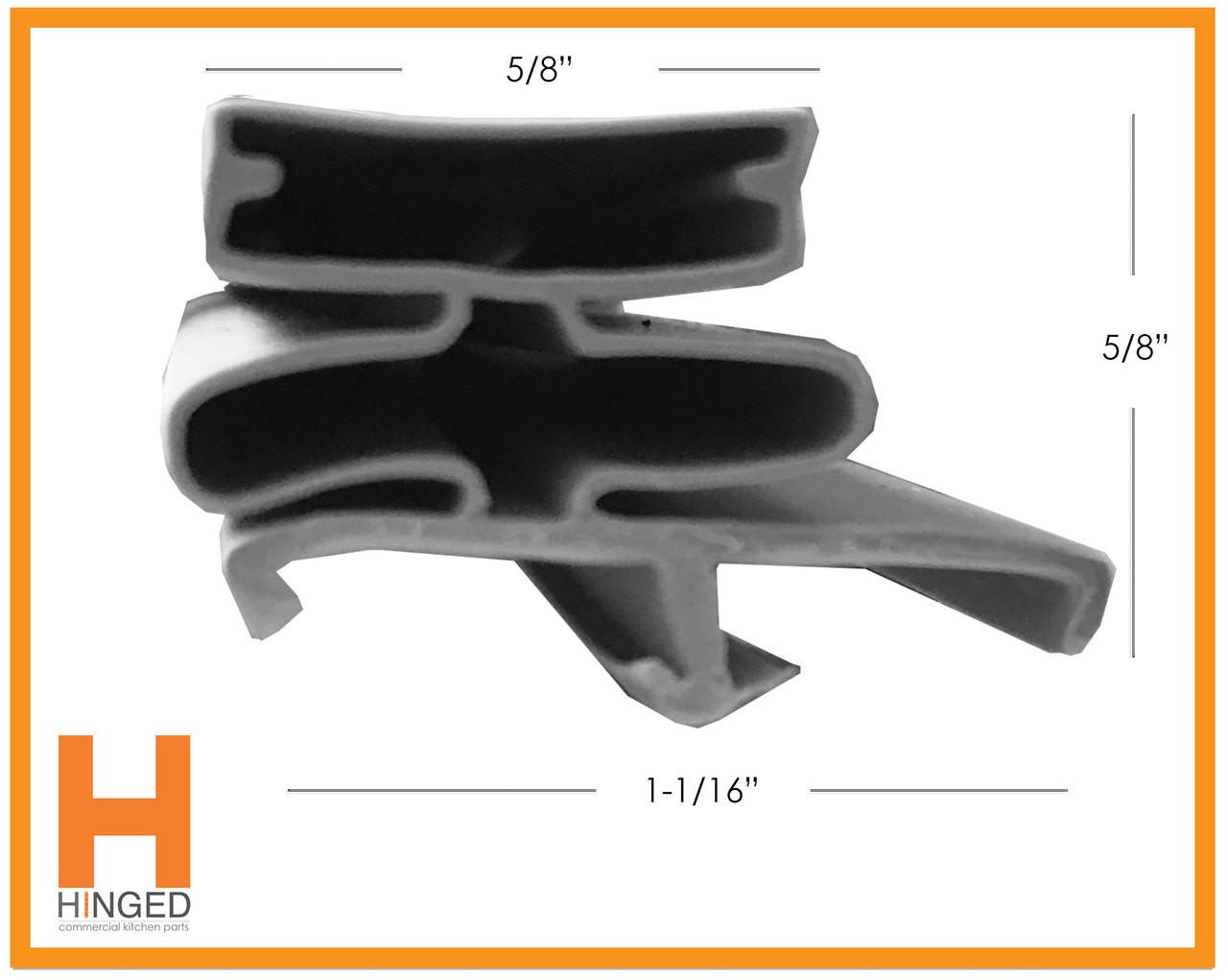 Kolpak 22619-1075 Cooler/Freezer Door Gasket
