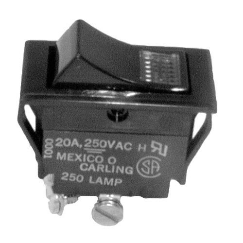 CRESCOR 0808-103-1 LIGHTED ROCKER SWITCH