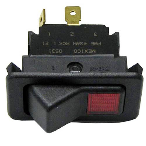 FWE (FOOD WARMING EQ) SWH RCK L E1 LIGHTED ROCKER SWITCH