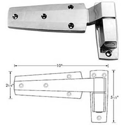 "CHG (Component Hardware Group) W60-1175 HINGE CAM (1-3/4"" OFST)"