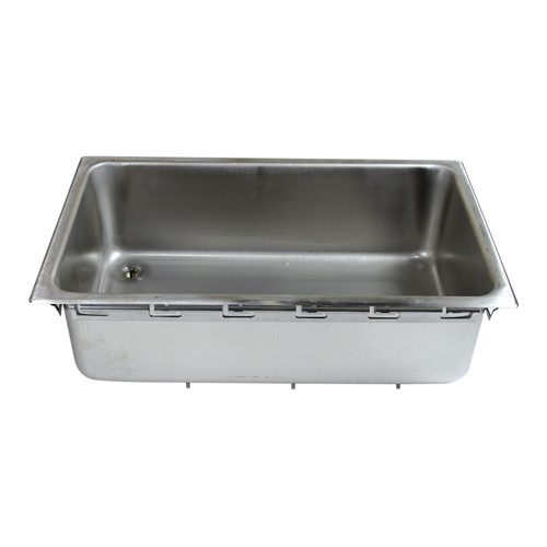 APW (American Permanent Ware) 55607 PAN WITH DRAIN