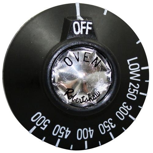 VULCAN HART 00-499678-00001 OVEN BLACK KNOB