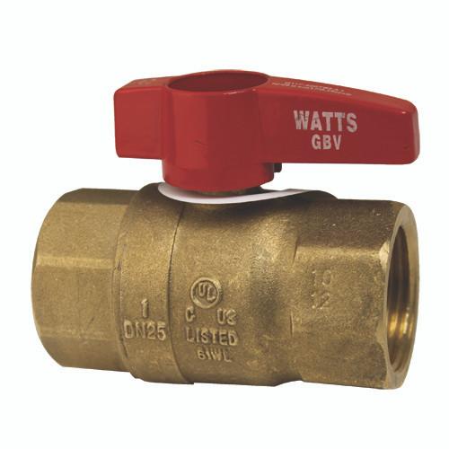 WATTS GBV-(1) GAS BALL VALVE