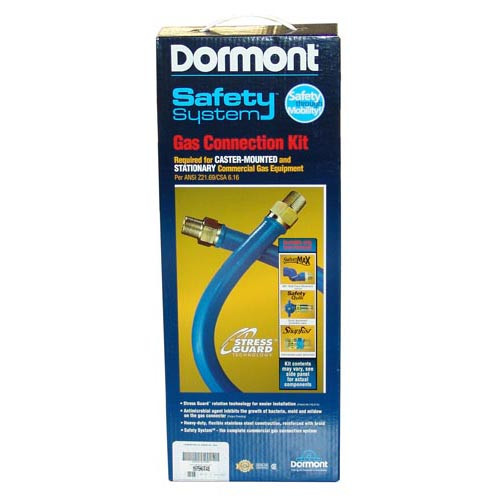 "DORMONT 16100KIT60 HOSE KIT GAS - 1"" X 60"