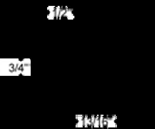 U-Line 31493-2W Cooler Freezer Door Gasket