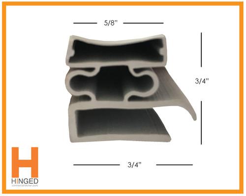 Utility 1309-P3 Cooler Freezer Door Gasket