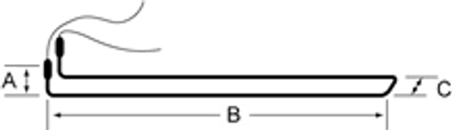 Witt 8215008 Defrost Condensate Heater