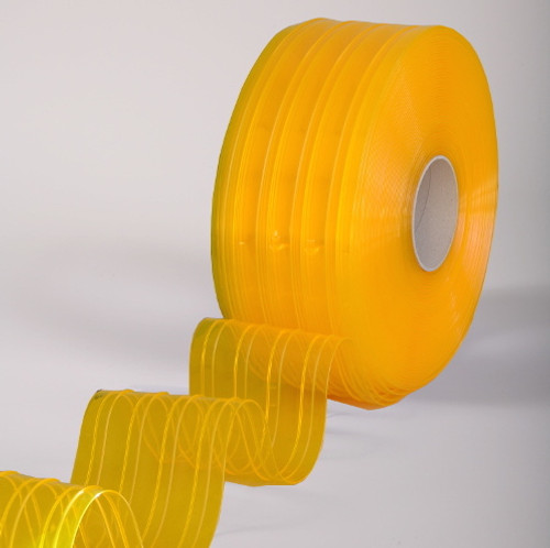 """8"""" Anti-Insect Strip Curtain Bulk Roll Ribbed"""