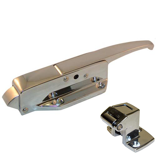 CHG W19-1000 Walk-in Door Latch/Strike