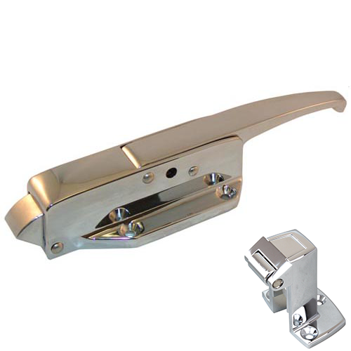 CHG W19-1500 Walk-in Door Latch/Strike
