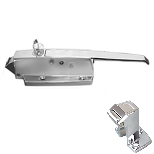 CHG W19-1500C Walk-in Door Latch/Strike Assembly