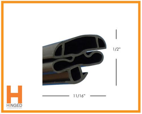Kelvinator K440947 Cooler/Freezer Glass Door Gasket