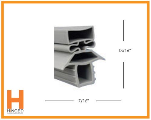 Traulsen 39254 Cooler/Freezer Door Gasket