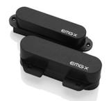 EMG TCX X Series Tele Active Pickup Set - black