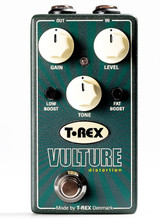 T-Rex Vulture Distortion pedal w/ low & fat boost