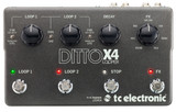 TC Electronic Ditto X4 Dual Track Looper pedal