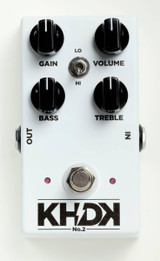 KHDK Electronics No. 2 Handmade Clean Boost pedal