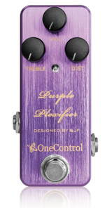 One Control BJF Designed Purple Plexifier Distortion pedal