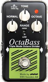 EBS Blue Label OctaBass Octave Divider pedal