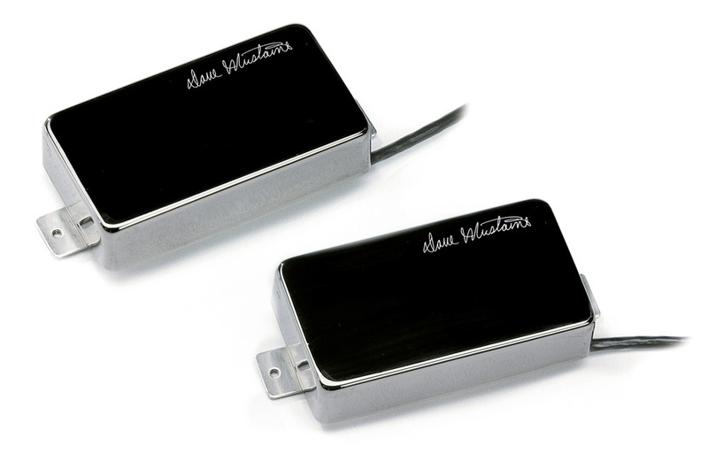 Seymour Duncan Dave Mustaine LiveWire Active Humbucker Set - black on