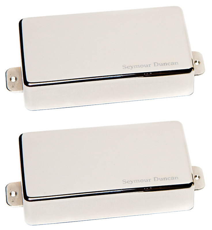 Seymour Duncan AHB-1 Blackouts Active Humbucker Set - nickel