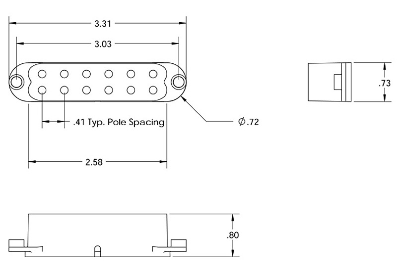 [SCHEMATICS_4US]  Seymour Duncan SL59-1 Little '59 for Strat - white, neck / mid - Macdaddy  Music | Wiring Diagram Seymour Duncan Little 59 Strat |  | Macdaddy Music
