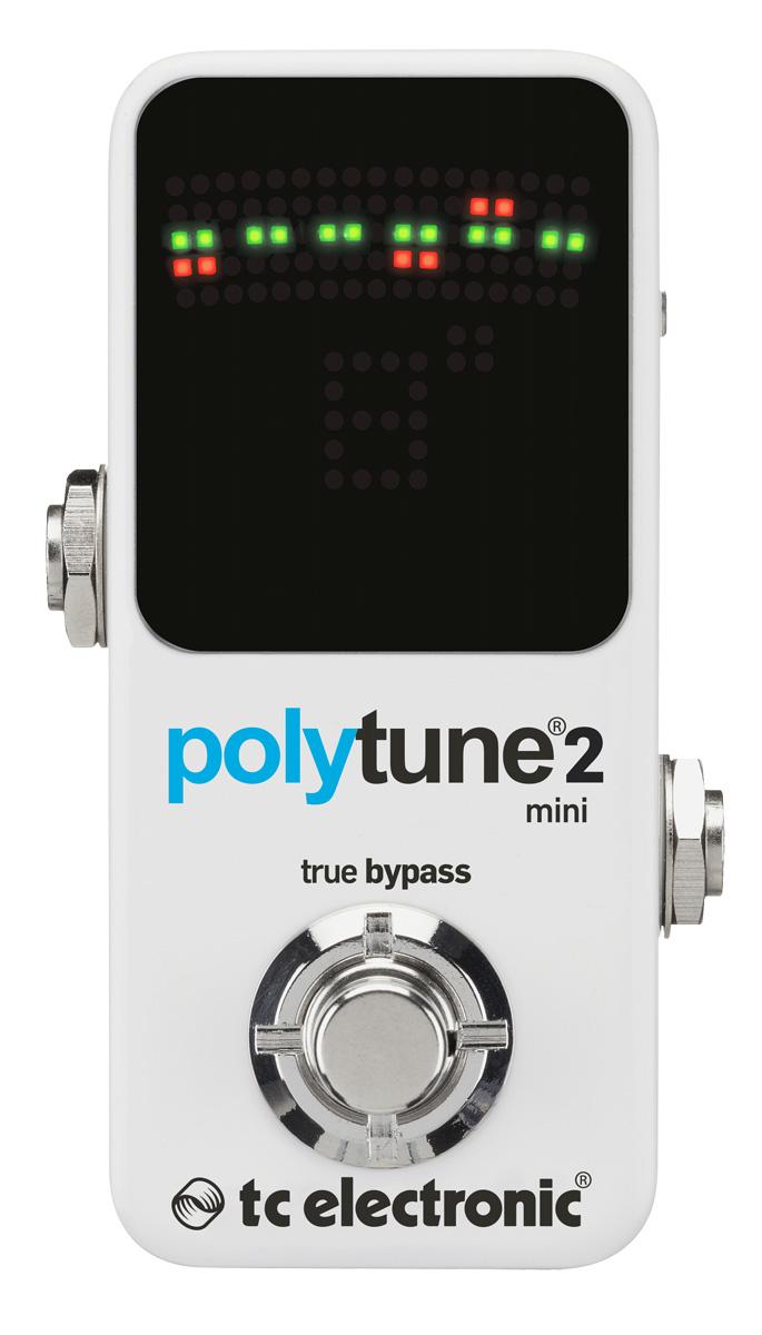 TC Electronic Polytune 2 Mini Poly Chromatic Tuner