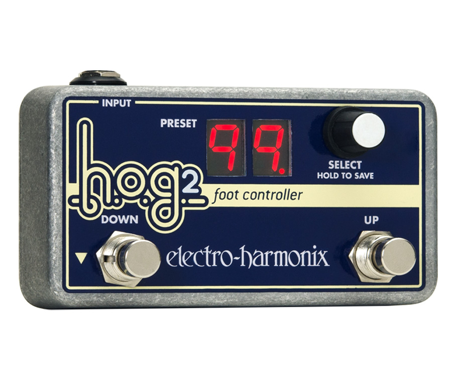 Electro-Harmonix HOG 2 Harmonic Octave Generator / Synthesizer Foot Controller