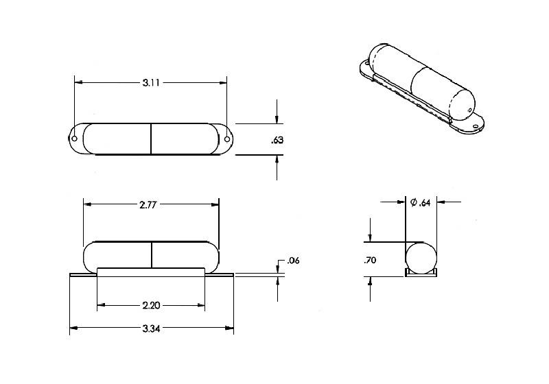 seymour duncan sls-1 lipstick tube strat neck pickup