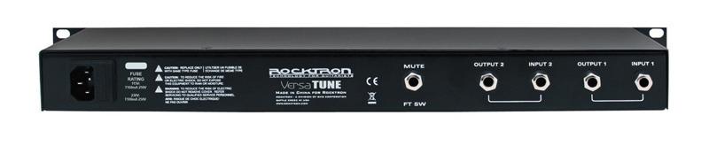 Rocktron VersaTune Chromatic Rack Tuner
