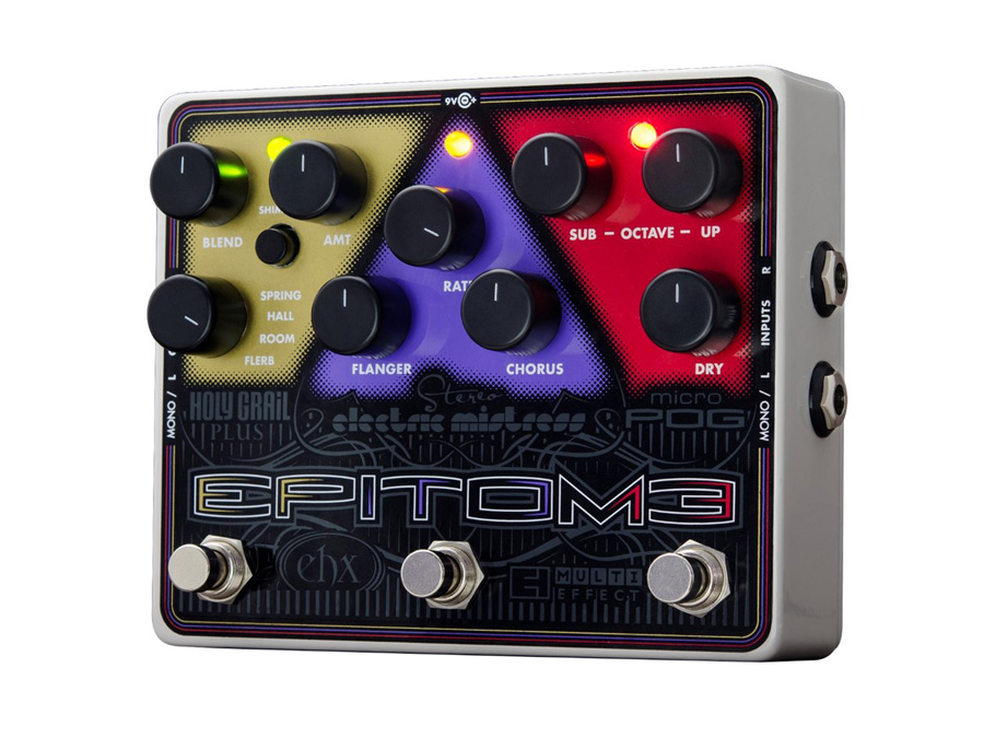 Electro-Harmonix Epitome Multi-Effects - Micro POG / Stereo Electric Mistress / Holy Grail Plus